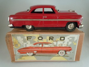 1950's Tin Friction Dord Coupe